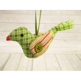 Ptaszek zawieszka szmaciana 13 cm
