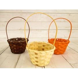 Koszyki wiklinowe 20cm z wkładem plastikowym