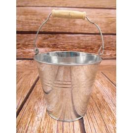 Wiaderko z blachy ocynk 12 cm wiadra osłonki