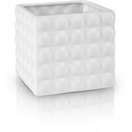 Osłonka, doniczka ceramiczna z MOTYWEM 12,5 cm