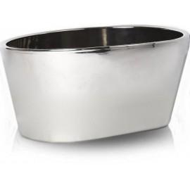 Osłonka, doniczka ceramiczna CHROM 19,5 cm