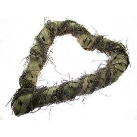 Serce rattanowe z rattanu 50 cm