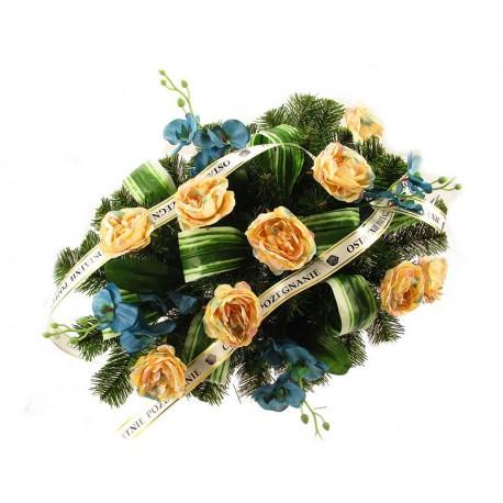 Wiązanka Pogrzebowa Nagrobna Stroik na Grób