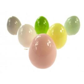 Jajka Kolorowe Ceramiczne 6 cm do Koszyczka Wielkanocnego
