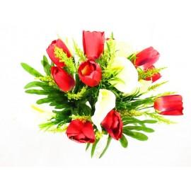 Tulipan,kalia bukiet 44 cm, mix  kolorów