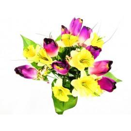 Tulipan,żonkil bukiet 40 cm, mix  kolorów