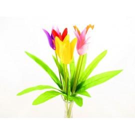 Tulipan pojedynczy 44 cm, mix  kolorów
