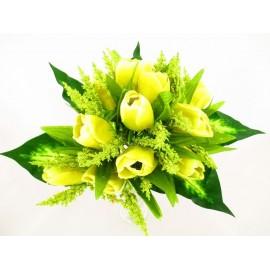 Tulipan bukiet 37cm, mix  kolorów