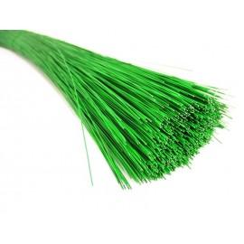 Drut florystyczny zielony do kwiatów 0,5 mm, dł. 42 cm