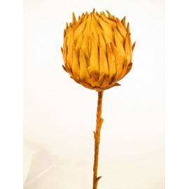 Egzotyczny kwiat sztuczny z pianki 105 cm