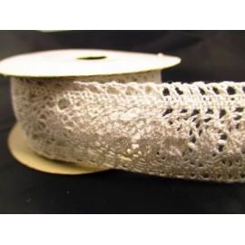 Wstążka koronka bawełniana 3,8cm