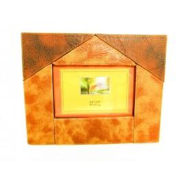 Ramka ekologicznej skóryi na zdjęcia  9x13 cm