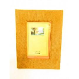 Ramka z tworzywa sztucznego materiałowa na zdjęcia  9x13 cm