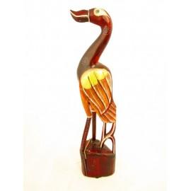 Flaming dekoracyjny z drewna egzotycznego  50cm.