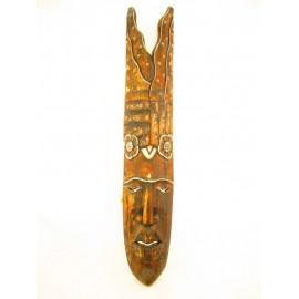 Maska z drewna egzotycznego