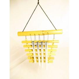 Dzzwonki metalowo-bambusowe
