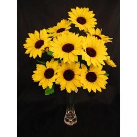Słonecznik sztuczny 12-gałązkowy,  51 cm