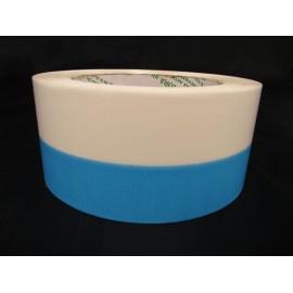 Wstążka niebiesko biała 5 cm