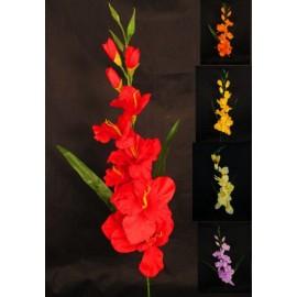 Gladiola sztuczna 80 cm