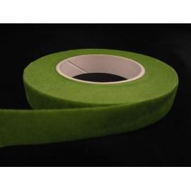 Taśma florystyczna ciemno zielona 2,5cm x 30 yardów