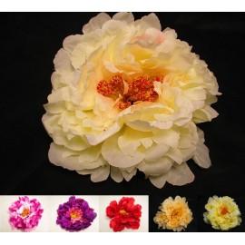 Piwonia sztuczna, główka kwiatowa 18 cm
