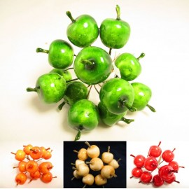 Rajskie jabłuszka - małe owoce 2 cm, 4 kolory