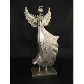 Anioł figurka metalowa 39 cm