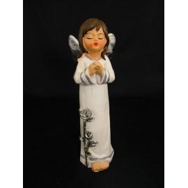 Aniołek świąteczny z ceramiki 20 cm