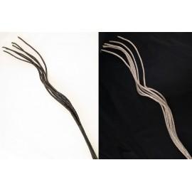 Sztuczne gałęzie ozdobne brokacone 100 cm