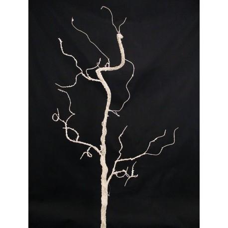 Sztuczna gałązka dekoracyjna z posypką 100 cm