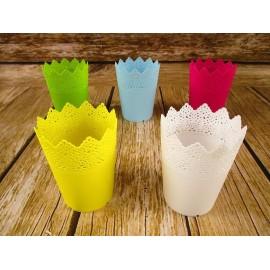 Wiosenne doniczki plastikowe 12 cm x 9 cm