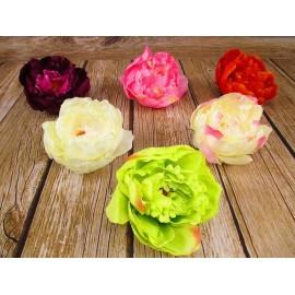 Piwonia sztuczna, główka kwiatowa, wyrobowa 8 cm x 15 cm