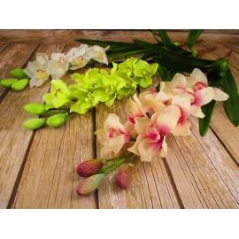 Storczyk lateksowy z korzeniami pojedynczy DUŻY 100 cm różne kolory