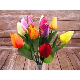 Tulipany pojedyncze do wazonu 52 cm mix kolorów