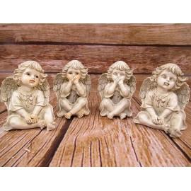 Anioł Aniołki figurka 9,5 cm
