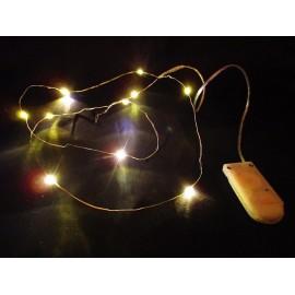 Łańcuch świetlny LED 10 diodek